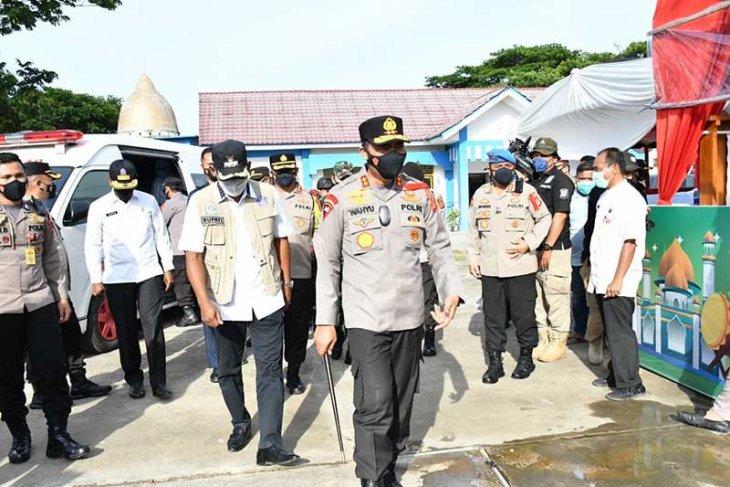 Kapolda Aceh cek pos pelayanan lebaran di Aceh Timur