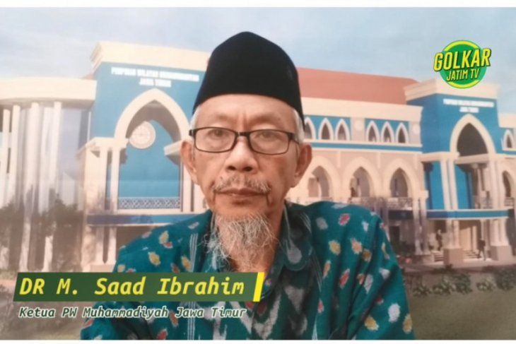 Ramadhan, Ketua NU-Muhammadiyah beri tausiyah untuk kader Golkar Jatim