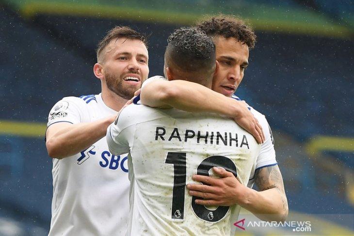 Leeds jegal Tottenham 3-1 di Liga Inggris