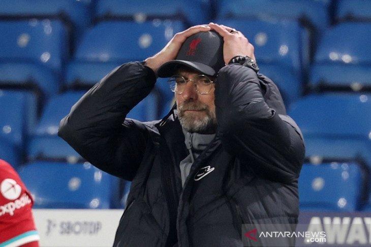Liga Inggris: Klopp merasa badai cedera sebabkan Liverpool gagal pertahankan gelar