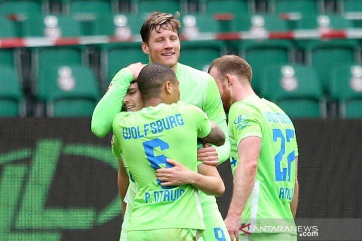 Liga Jerman, Wolfsburg jaga tiga besar, peluang Liga Champions Leverkusen habis