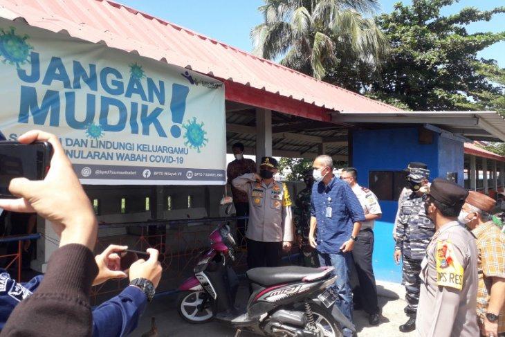 Pelabuhan Tanjungkalian Mentok tidak layani penumpang orang