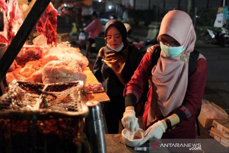 Harga daging dan cabai di Kota Bogor merangkak naik