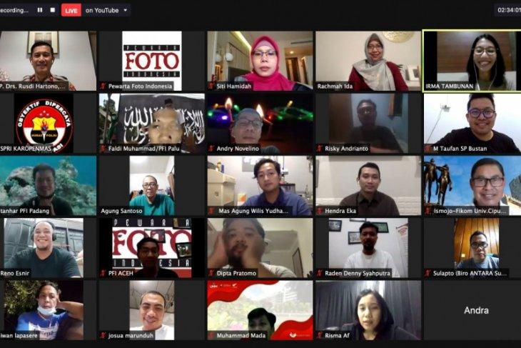 Hari pers dunia - Sinergit Polri dan pers bangun kepercayaan publik