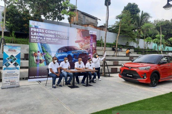 Jelang lebaran  Toyota Raize mengaspal di Jambi