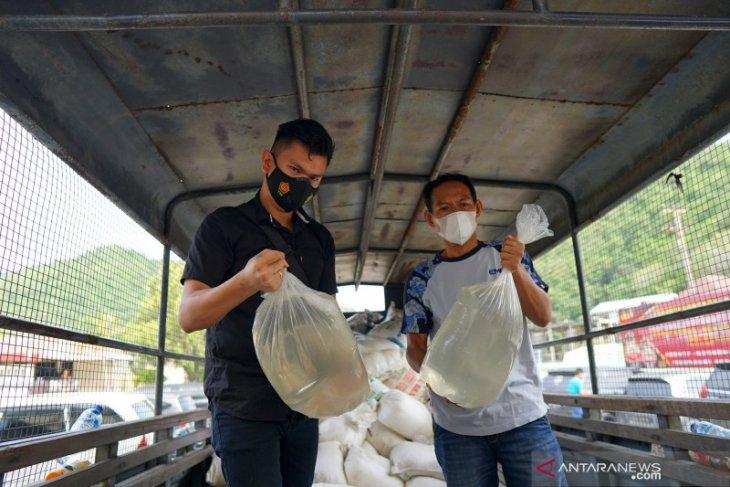 Polres Gorontalo Kota sita 3.809 liter miras jenis captikus