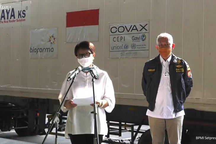Indonesia gets third batch of AstraZeneca vaccine under COVAX facility