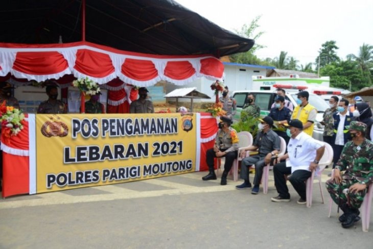 Gubernur Gorontalo-Wagub Sulteng bertemu di perbatasan