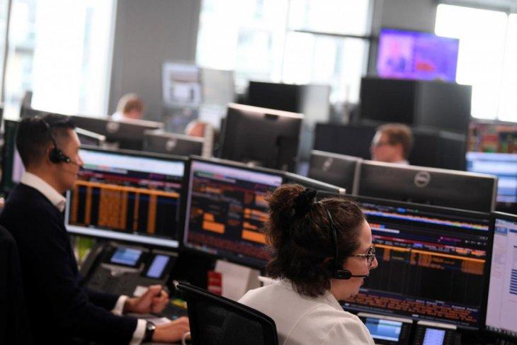 Saham Inggris jatuh pada hari kedua, indeks FTSE 100 anjlok 2,47 persen