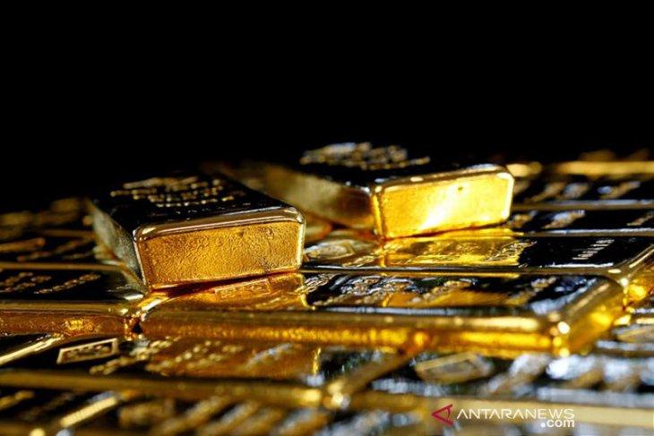 Emas jatuh, terpukul reli