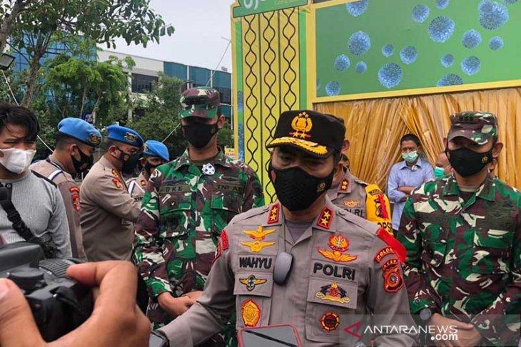 Tinjau pos pelayanan lebaran di Lhokseumawe, ini kata Kapolda Aceh