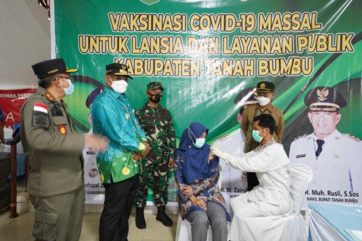 Safrizal minta vaksinasi lansia dilakukan dari rumah ke rumah