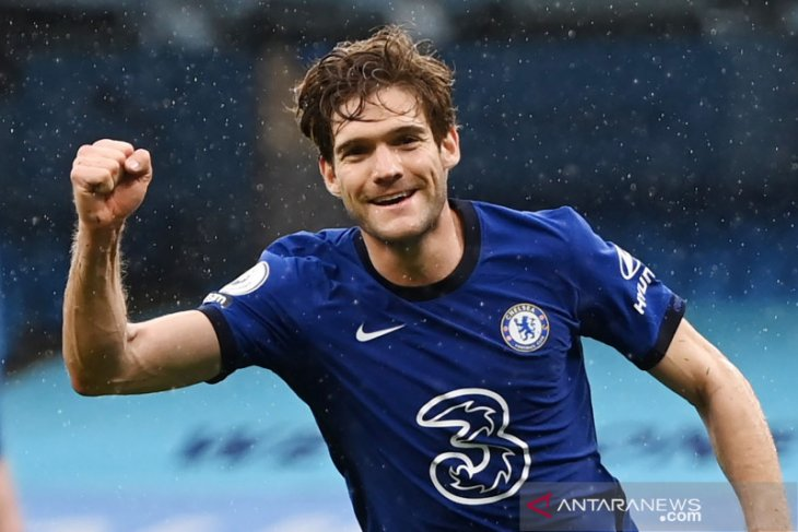Chelsea menunda pesta juara Manchester City