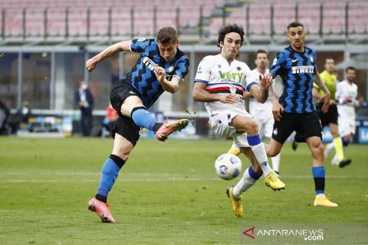Inter lanjutkan tren nirkalah dengan gulung Sampdoria
