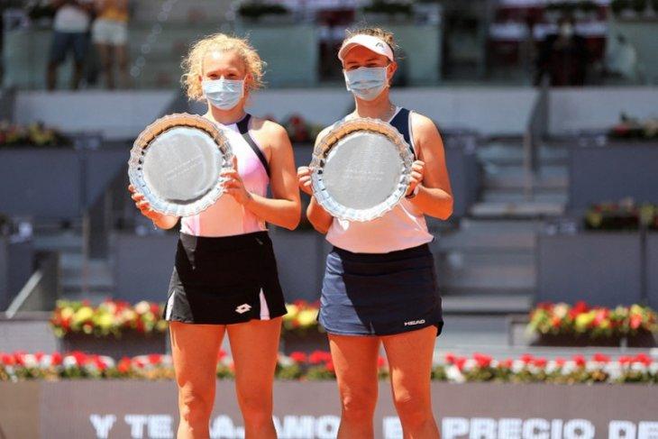 Krejcikova/Siniakova amankan gelar Madrid Open di sektor ganda putri