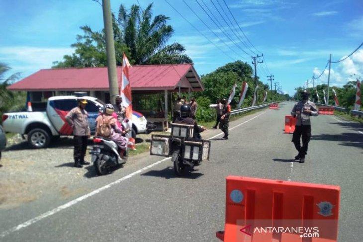 Polisi cabut pos penyekatan di Aceh Barat terkait mudik lokal