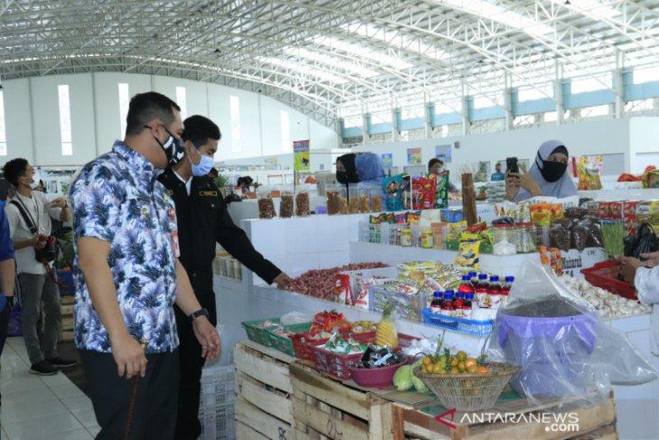 Wali Kota kunjungi Pasar Bauntung cek harga dan pasokan bahan pangan