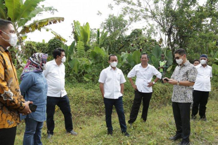 Menteri Investasi Bahlil dorong pusat pengembangan ekonomi baru di Banten