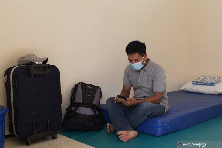 Pekerja Migran Jalani Karantina di Madiun
