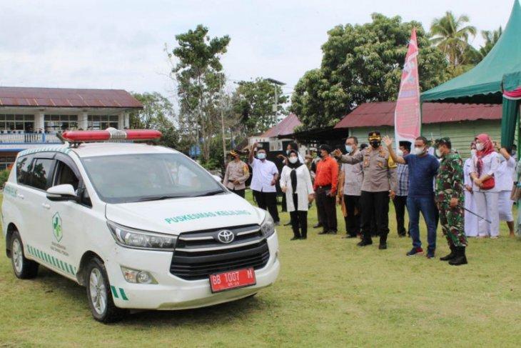 Bupati bersama Forkopimda launching vaksinasi mobile di Tapteng