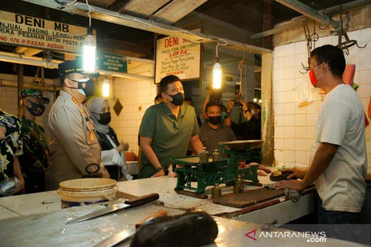 Harga bahan pokok  di Medan mulai naik jelang Lebaran