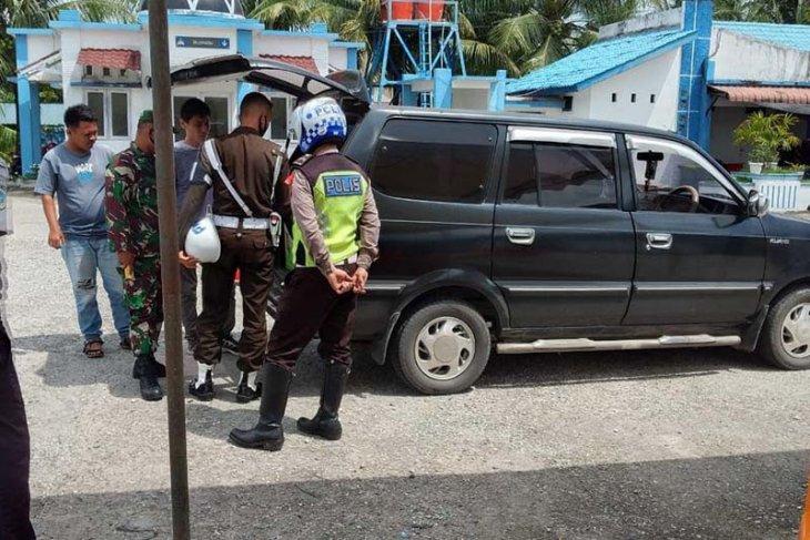Polda Aceh: Lalu lintas kendaraan di perbatasan Aceh-Sumut menurun