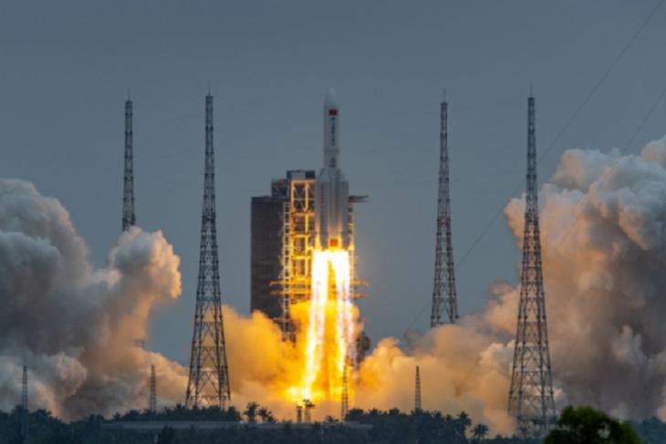 Kapal luar angkasa tak berawak berhasil dikirim China ke Mars pertama kalinya