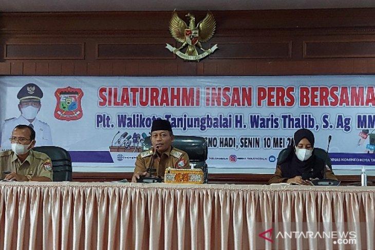 Plt Wali Kota Tanjungbalai mengaku butuh informasi dari wartawan
