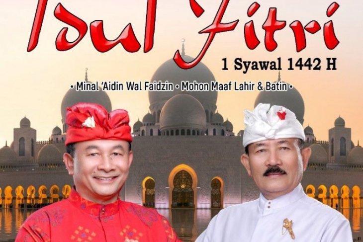Bupati Karangasem ucapkan Selamat Hari Raya Idul Fitri 1442 H