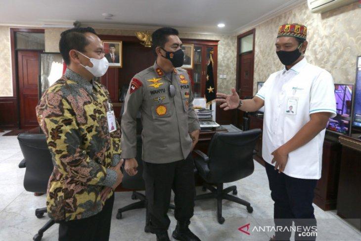Silahturrahmi Direksi BSI dengan Kapolda Aceh