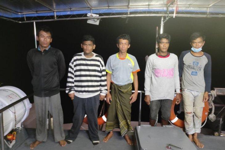 KKP bebaskan lima nelayan WNI yang ditangkap aparat Malaysia