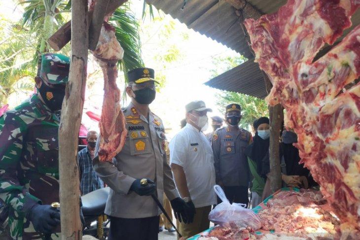 Gubernur Erzaldi pantau harga sembako di Pasar Mentok