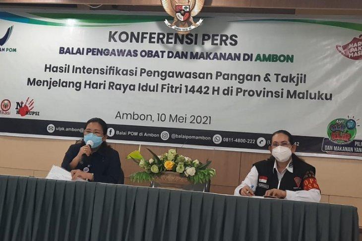 BPOM Ambon temukan ribuan kemasan produk pangan substandar jelang Idul Fitri
