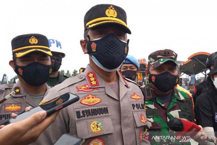 Polresta Cirebon putar balik sebanyak 6.000 sepeda motor pemudik