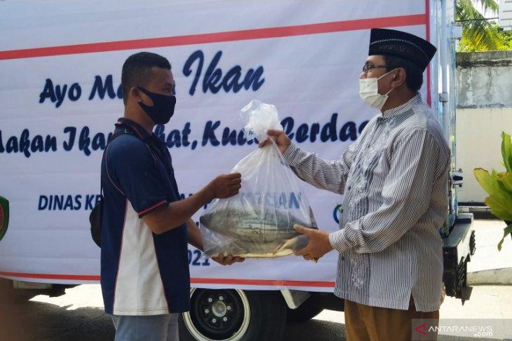 DKP Maluku bagikan 25 ton ikan cakalang beku  jelang Idul Fitri 1442 Hijriah