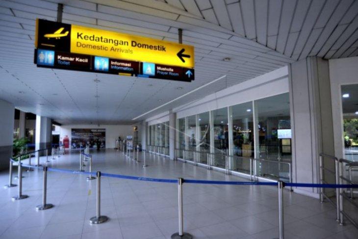 Bandara sepi saat berlakunya larangan mudik