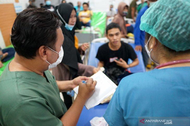 110 warga binaan dan petugas Lapas Gorontalo diduga keracunan