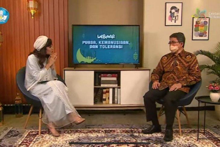 Nadiem Makarim ajak insan pendidikan wujudkan Indonesia bebas intoleransi