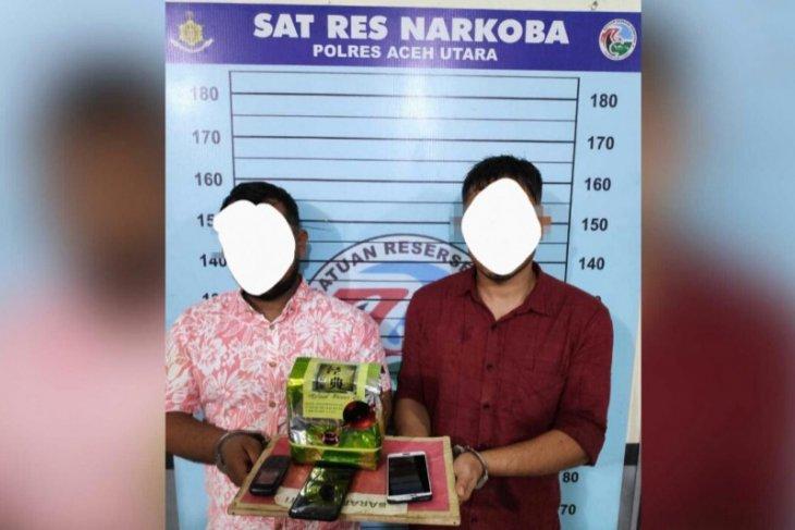Dua pengedar dengan 1,1 kilogram sabu-sabu di tangkap polisi di Aceh Utara