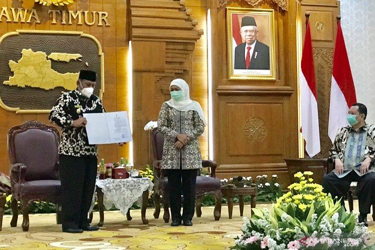 Jabat Plt. Bupati Nganjuk, Marhaen Jumadi diminta kembalikan kepercayaan masyarakat