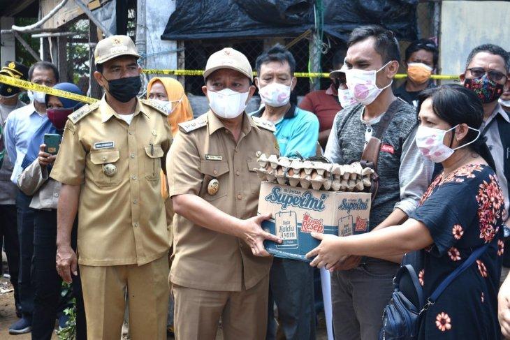 Pemkab berikan bantuan awal untuk korban kebakaran di Mela Tapteng