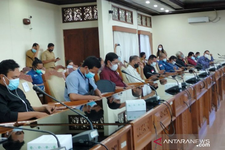 DPRD Bali terima kunker DPRD Buleleng dan wartawan