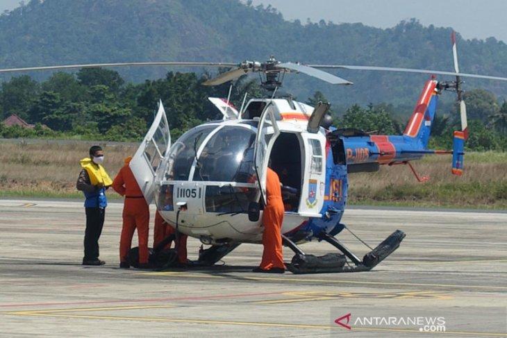 PLN dan POLDA Babel sinergi angkut material pembangkit gunakan helikopter
