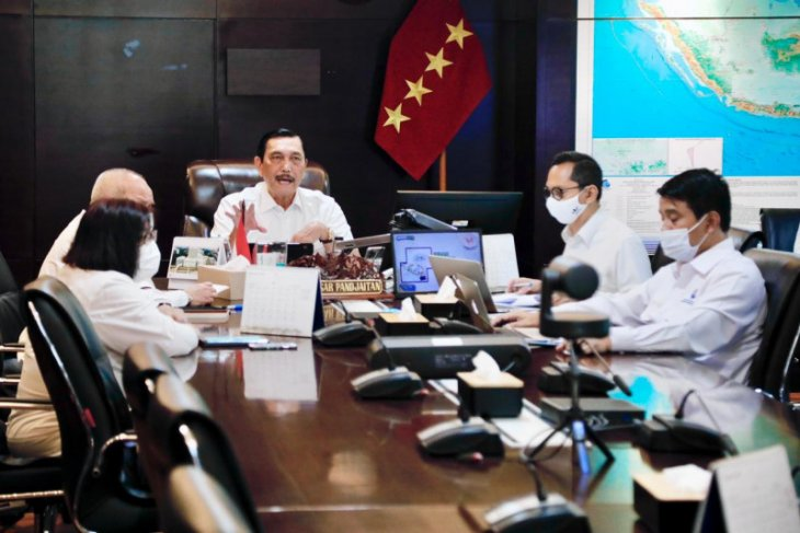 Luhut tegaskan pembangunan infrastruktur di Bali tetap berjalan