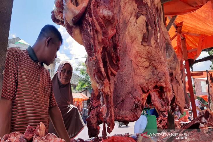 Harga daging meugang Idul Fitri di Banda Aceh Rp 170 per kilogram