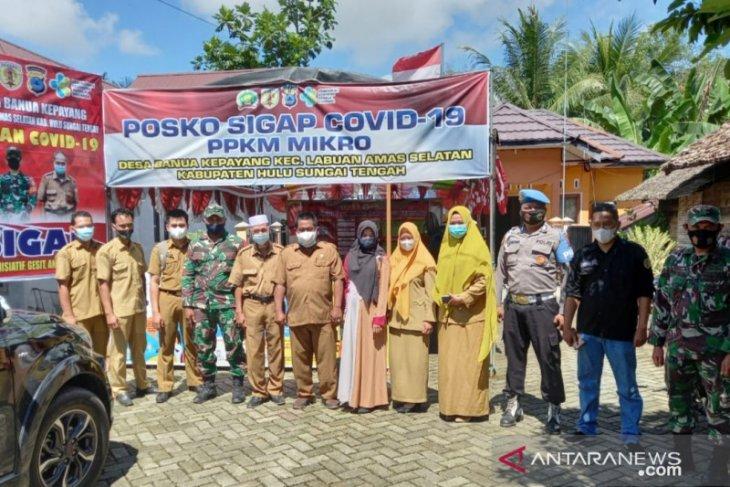 Cegah penyebaran COVID-19, setiap desa di HST ada Posko PPKM mikro