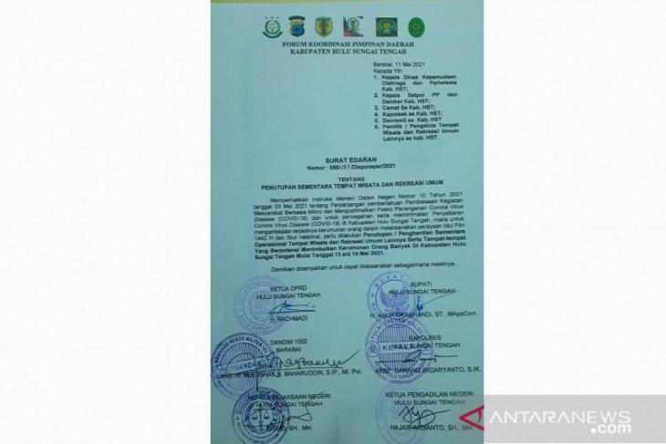 Hanya surat edaran, tidak ada sanksi bagi pengelola wisata tetap buka di HST