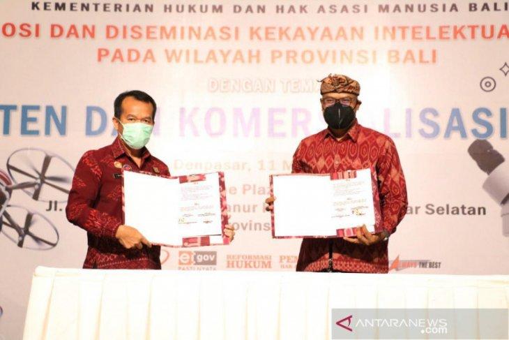 ISI Denpasar-Kemenkumham Bali teken MoU perlindungan kekayaan intelektual