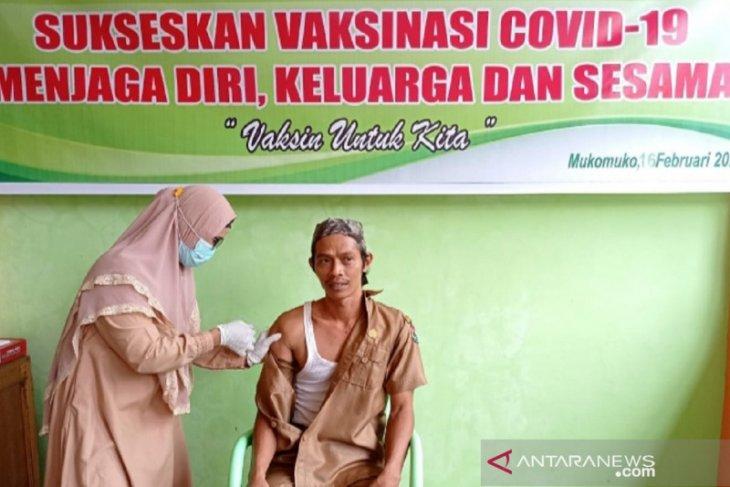 Di Mukomuko 1.745 warga terima vaksin COVID-19