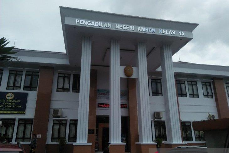 Dua terdakwa narkoba di Ambon divonis lima dan tujuh tahun penjara